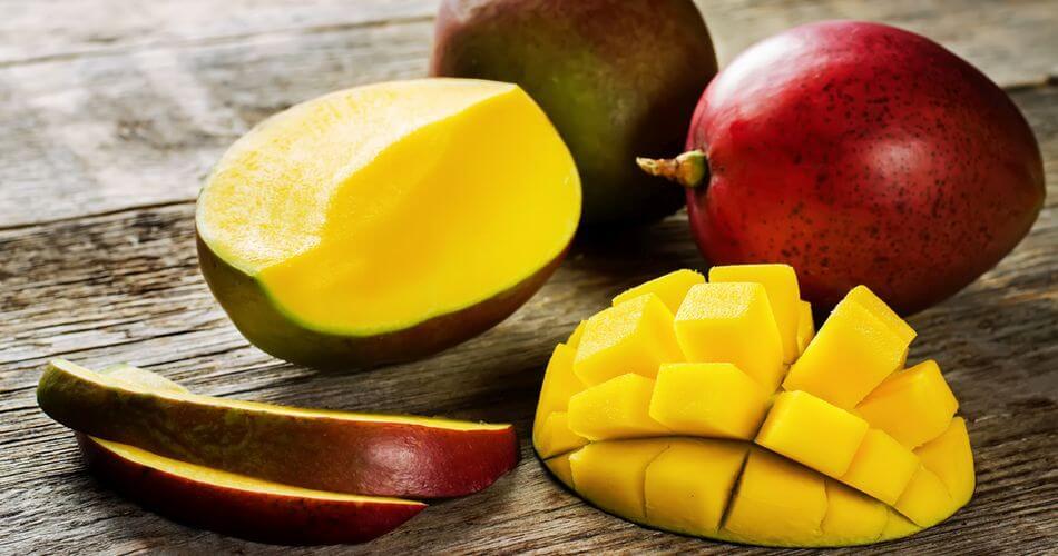 jak obrać mango